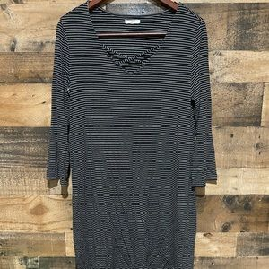 Maurices Large Stripe Caged Dress